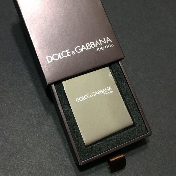 """42a4f0f0fc1 (7 Left) Dolce   Gabbana """"The One"""" Money Clip NEW"""